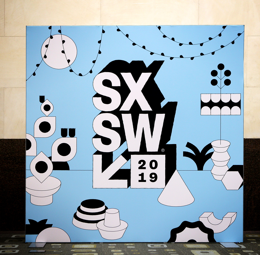 Austin, Texas - March 7, 2019: Sxsw South By Southwest Annual Mu
