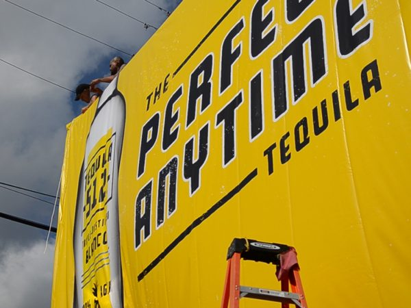 Tequila 512, Banner, Signage, Print