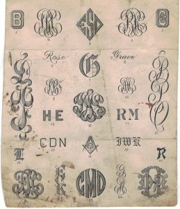 From The Design Desk | What ever happened to the Monogram?-1