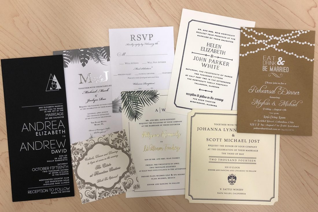 Your guide to stress free custom wedding invitations custom wedding invitations filmwisefo