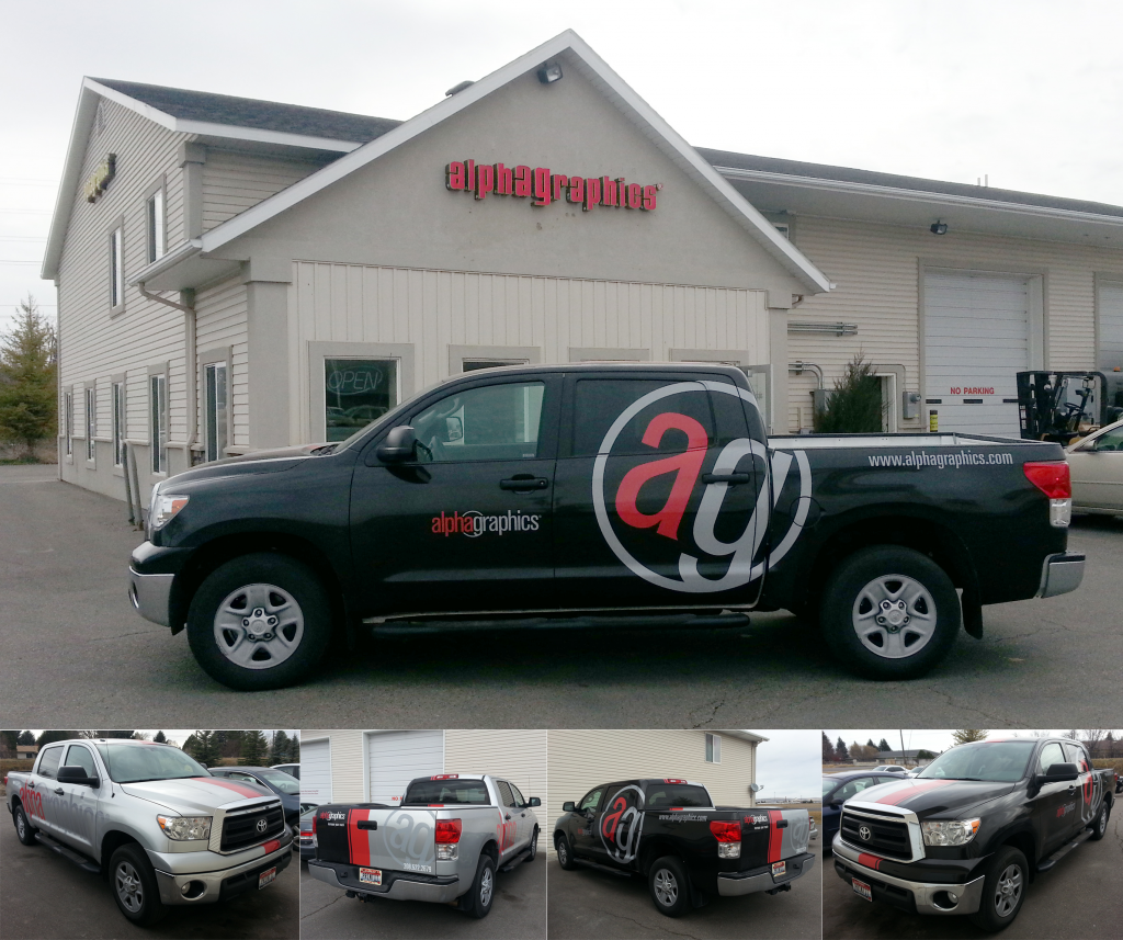 AlphaGraphics Truck Wrap