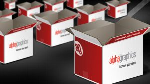 AlphaGraphics Boxes of Apparel