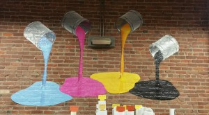 Wall Cling Ink Cans