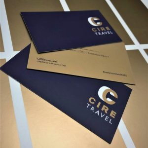 CIRE Business Cards - Award of Recognition, Division 1, Specialty Printing Digital/Offset Hybrid