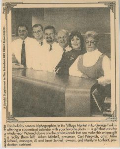 Newspaper Picture of Staff