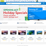 Walmart Website Design