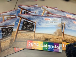 2014 Alphagraphics Calendar: Year of the Local Event.-1