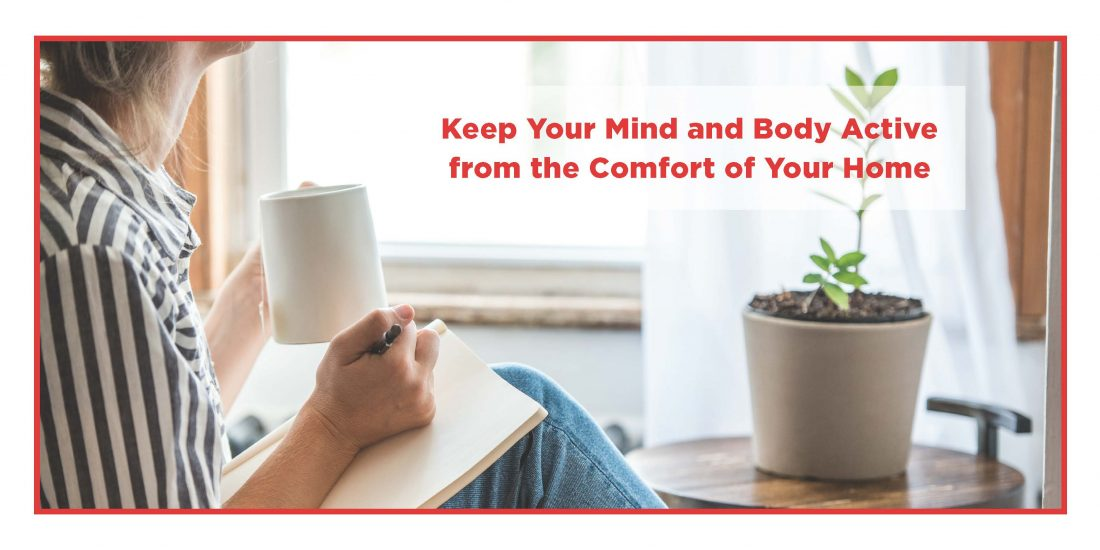 keep mind and body active at home during covid-19