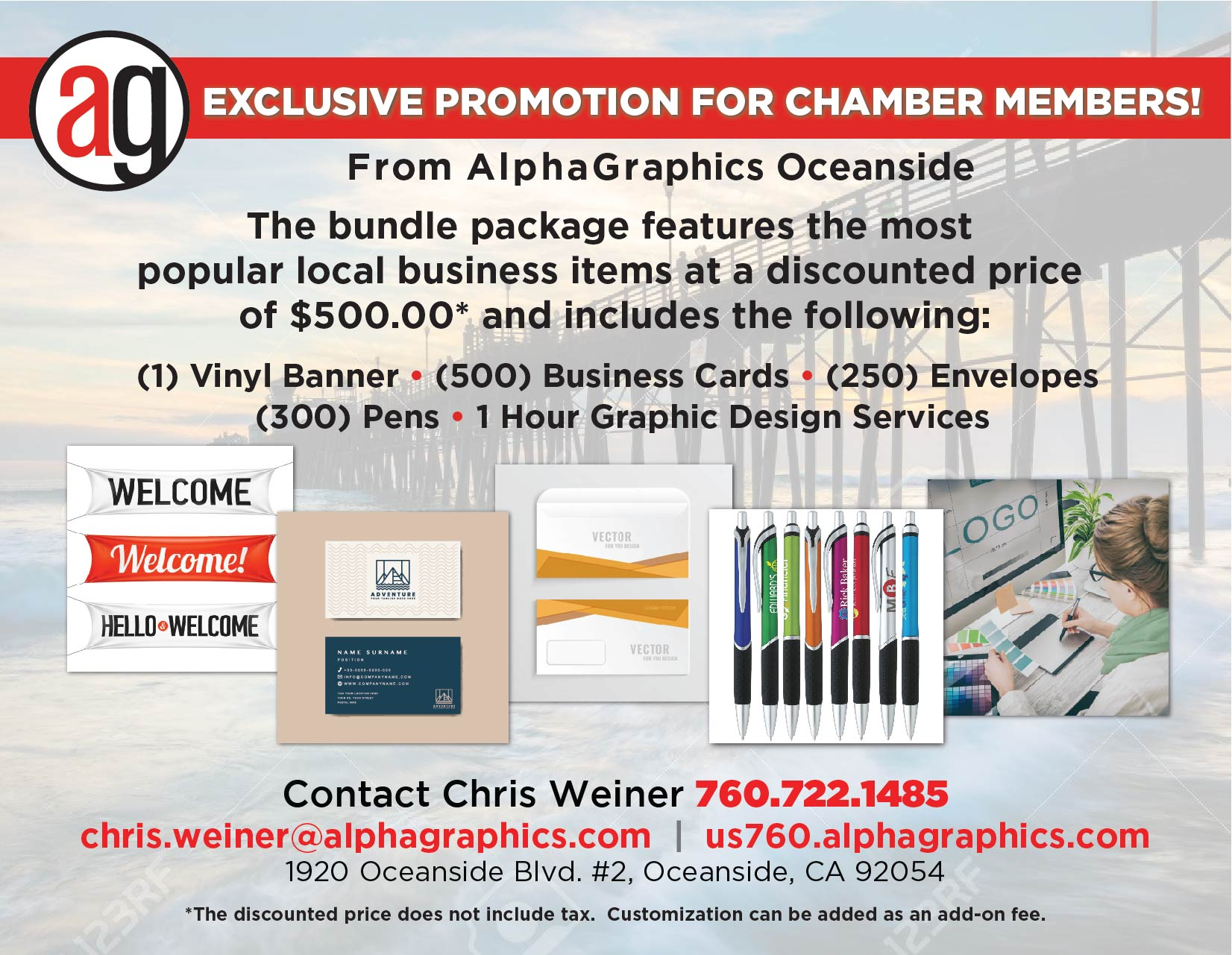 Exclusive 2020 Deal On Printing And Marketing Services For North County Chamber Members