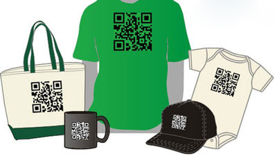 QR code promo products