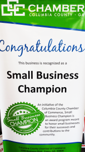 Small Business Champion Banner